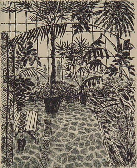 Kasveja I (Plants I) by Finnish artist Inari Krohn (1985).