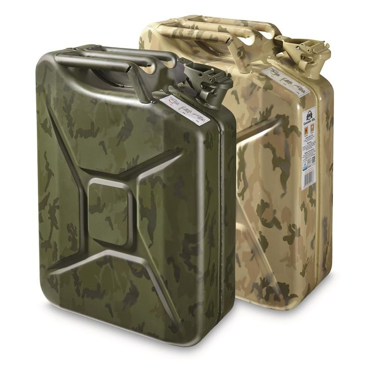 U.S. Military Surplus Jerry Can, 20 Liter, New