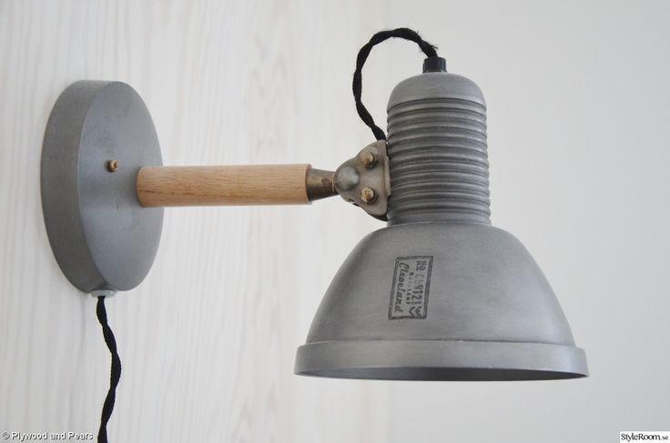 sänglampor,sänglampa industristil,lampa housedoctor