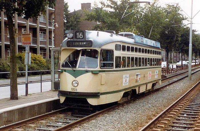 Tram Den Haag, jaren 60 ,pcc