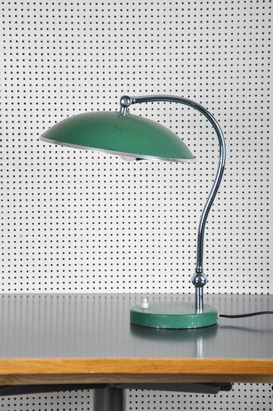 Splash of color for your desk... Grandpa Vintage - Lampa 20/30-tal large-1