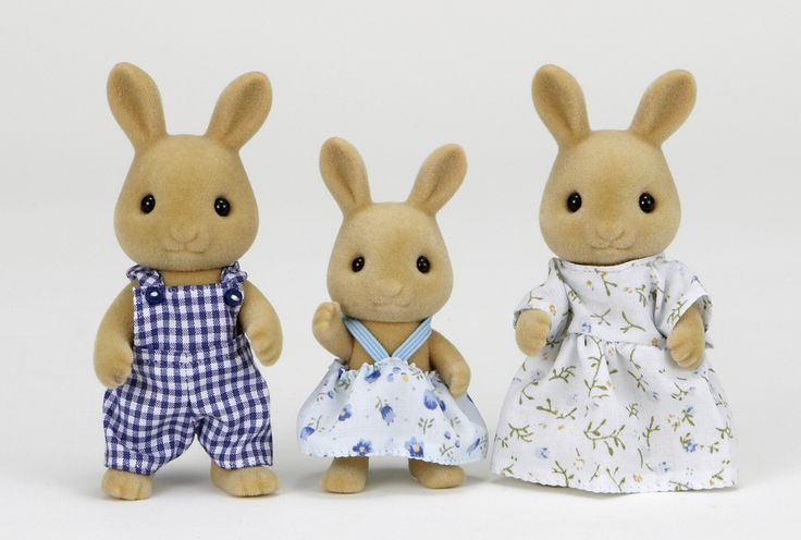 Αγαπημένα μου σας βλέπω και στα όνειρα μου. Sylvanian Families GR ♥ Ocher Rabbit Family ♥