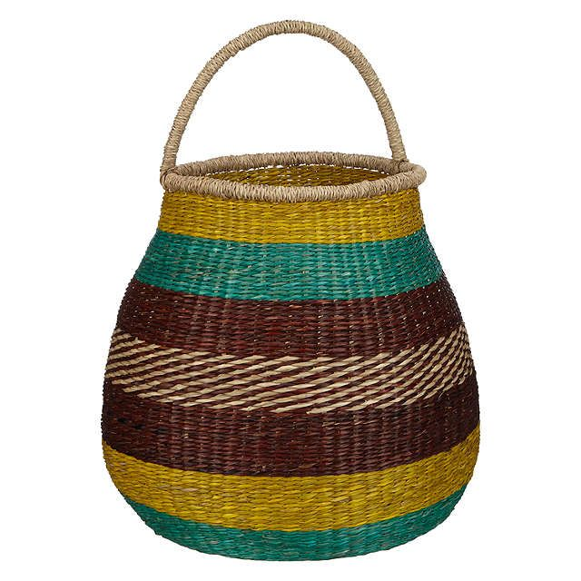BuyJohn Lewis Dakara Stripe Basket with Handle Online at johnlewis.com