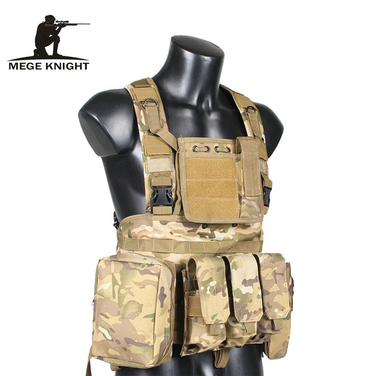 Military Airsoft Tactical Vest Camouflage Military Uniform Combat Vest  Colete Tatico Python Chaleco Amy Clothing US Navy Seal