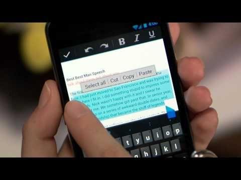 MAJ Google Docs pour android