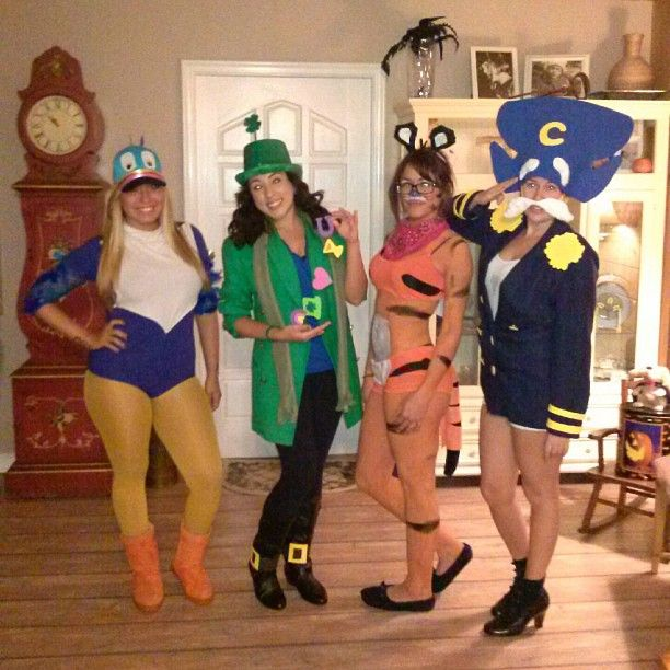 Pin for Later: 59 Halloween Costumes Inspired by Your Favorite Things Toucan Sam, Lucky Charms Leprechaun, Tony the Tiger, Captain Crunch