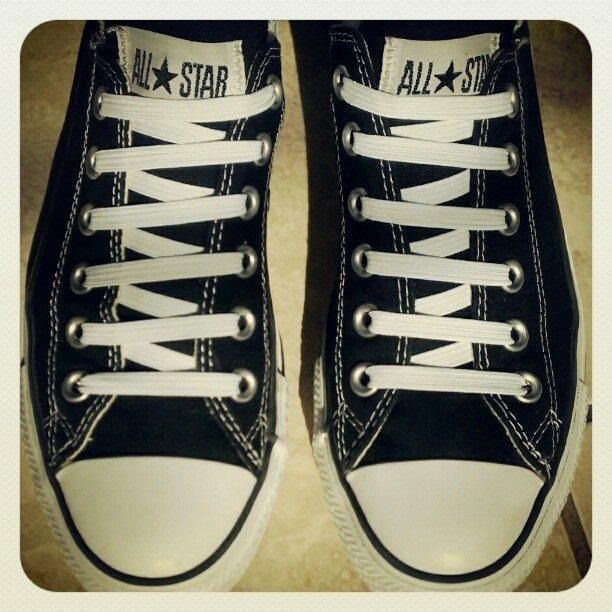 How to Lace your Converse shoelaces in fifteen different ways ...