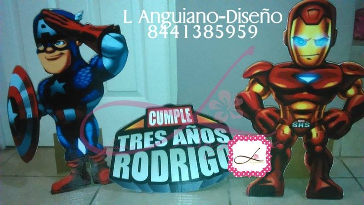 Display para Fiesta Infantil By Linda Anguiano