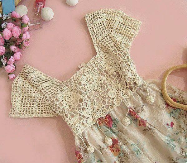 Artes com Capricho: Customize com crochet