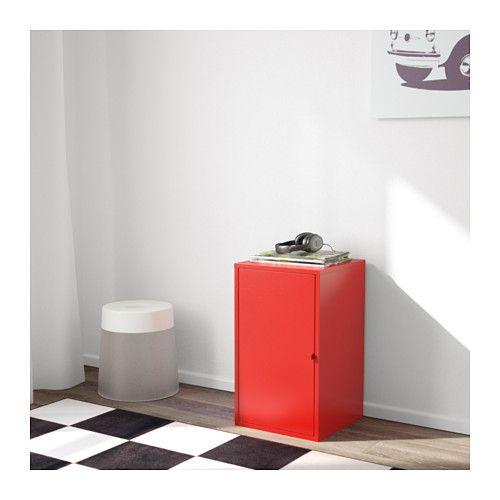 LIXHULT Rangement - métal/rouge - IKEA