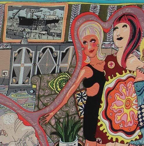 Sarah McIntyre - grayson perry's tapestries
