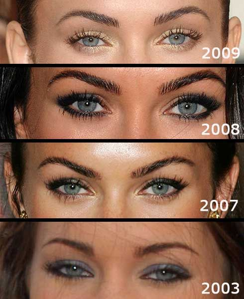 megan fox ~ eyebrows