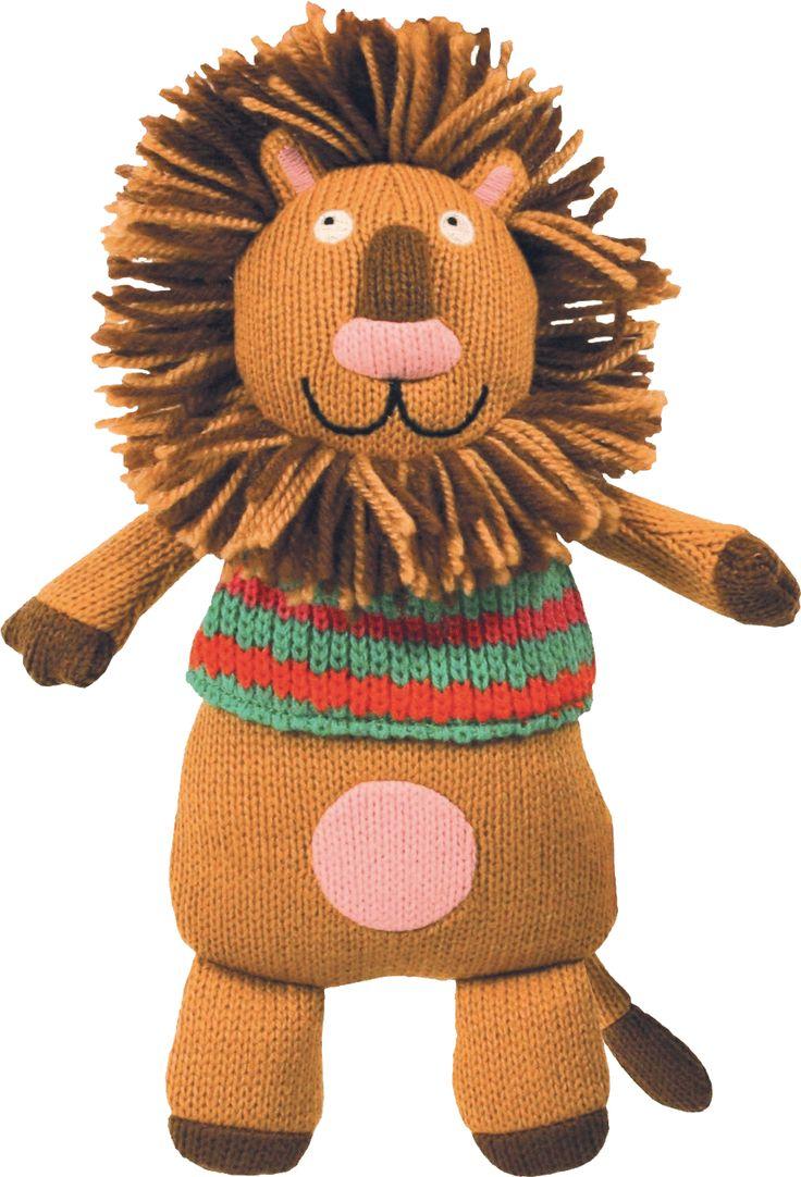 Simon le lion des personnages de la Wooly Family par Latitude Enfant. Jouet ludique. Doudou d'éveil. Produit de puériculture.