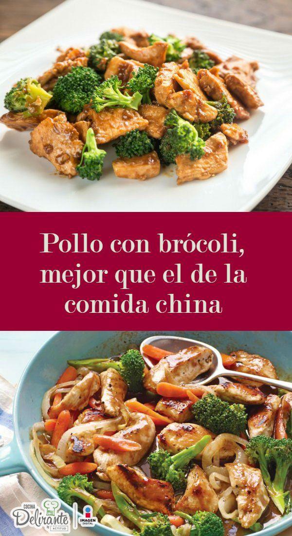 Pollo con brócoli de restaurante chino   CocinaDelirante