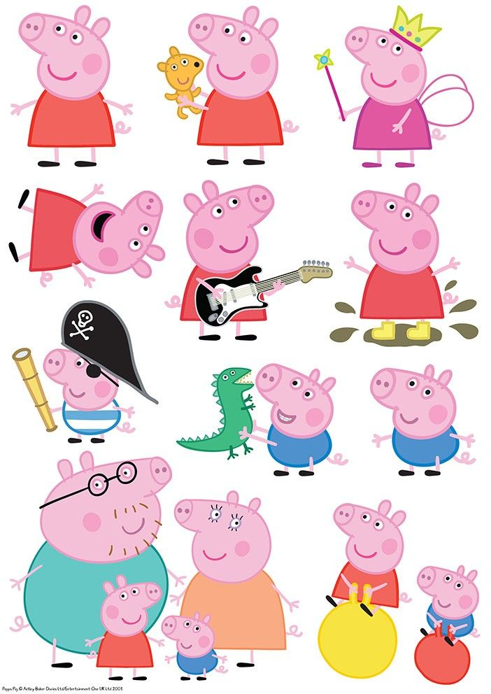 resultat d imatges de peppa pig characters peppa in 2018 peppa