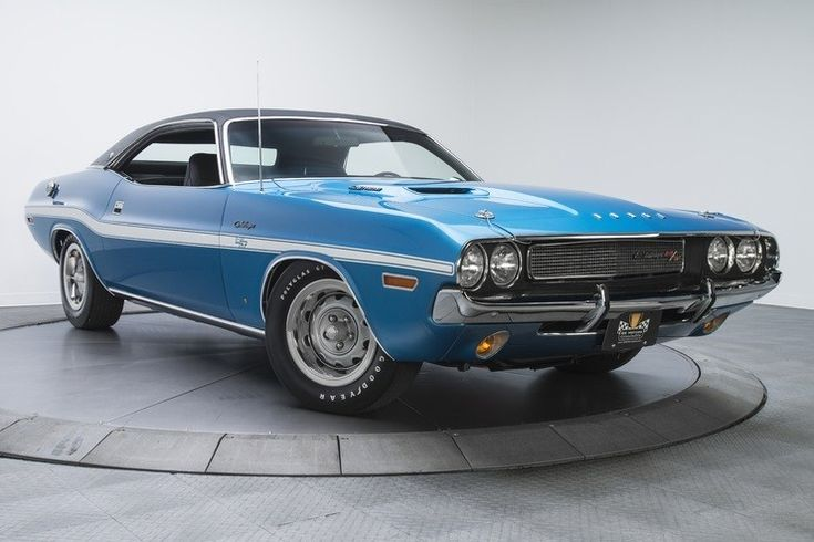 1970 Dodge Challenger RT/SE – Men's Gear