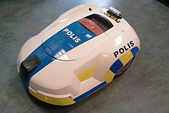 Polisrobotklippare foto nenne på forumet Robotklippare.Nu