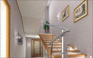 18 Charming Stair Railing Design Picture