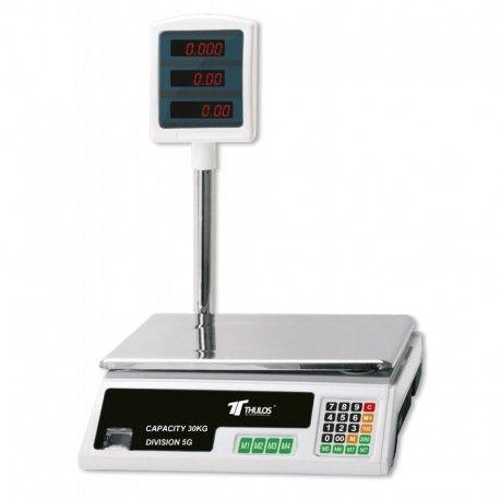 Bascula digital electronica 30KG con pantalla LED