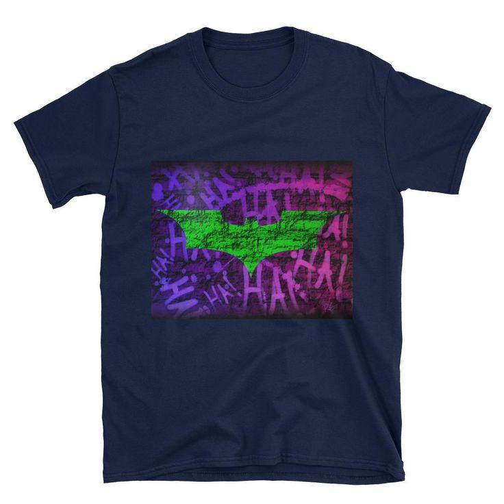 Batman Joker Symbol Short-Sleeve Unisex T-Shirt