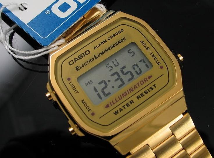 Relógio Casio A168 Original