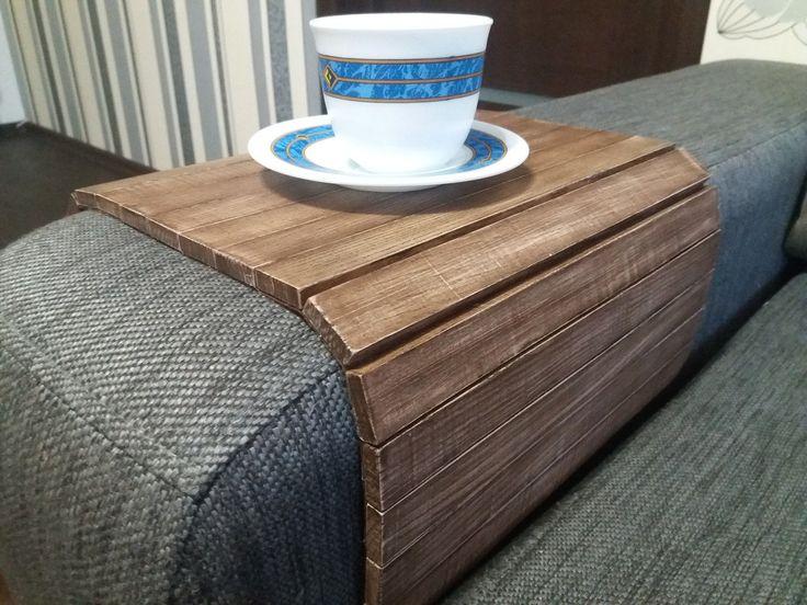"""Деревянный коврик на подлокотник (коричневый винтаж) #2i2ua: продажа, цена в Днепре. декор для мебели от """"2i2ua интернет-магазин """" - 336487492"""