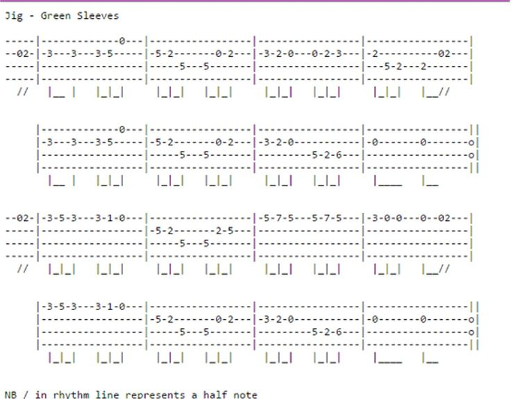 Mandolin mandolin tabs greensleeves : 1000+ images about Mandolina - tabulatury,tablature,tab,tabs on ...
