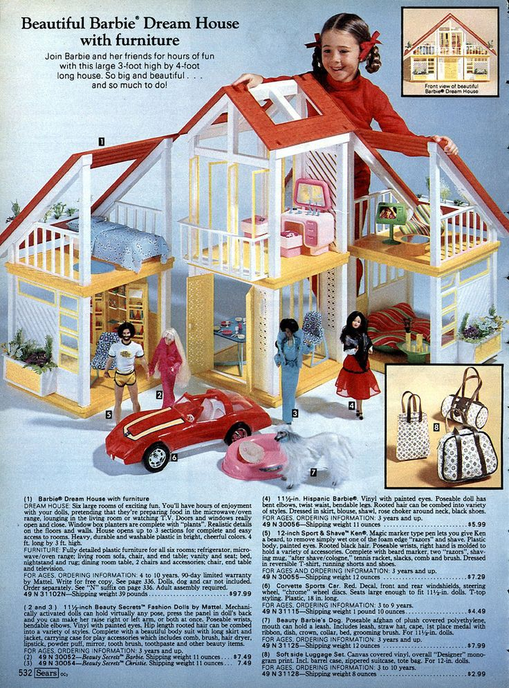 I got this for Christmas in 1980. So many great memories playing with this house.