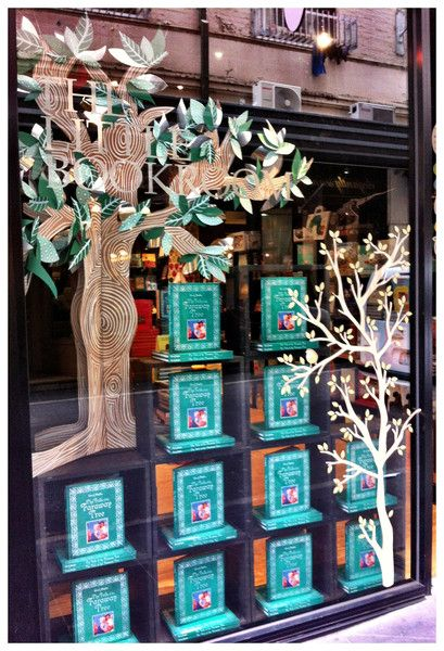 Our Faraway Tree window. Degraves St, November 2012