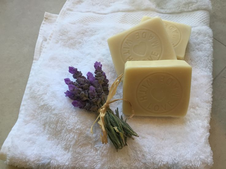 French Lavender natural soap.