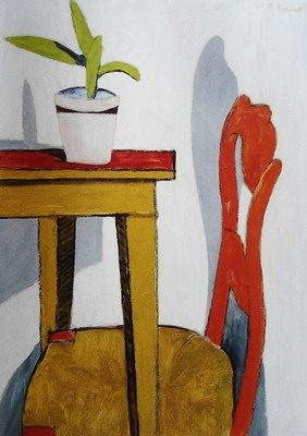 ROGER RAVEEL The Red Chair (1949)