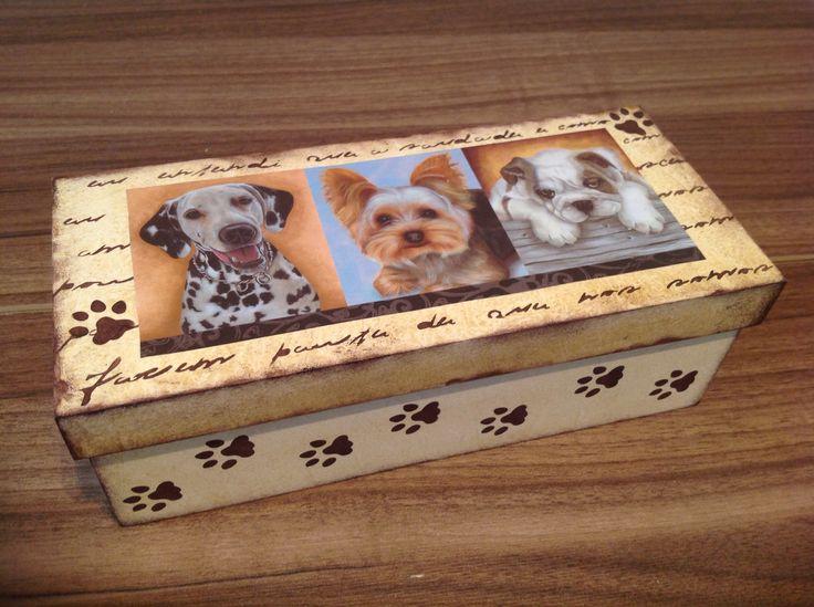 Caixa de presente....Dog..