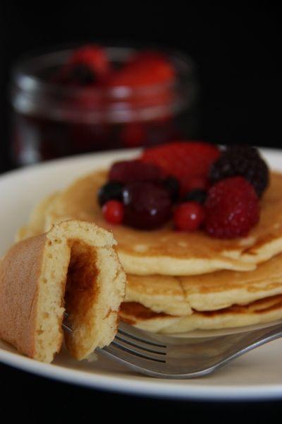 Depuis mon retour de Paris où j'ai fait cette merveilleuse recette de pancakes pour le brunch, je ne fais que me dire qu'il faut absolument...