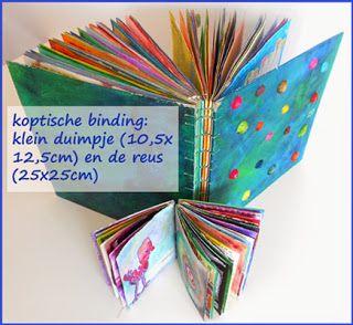 centipede: dagboeken/boekbinden