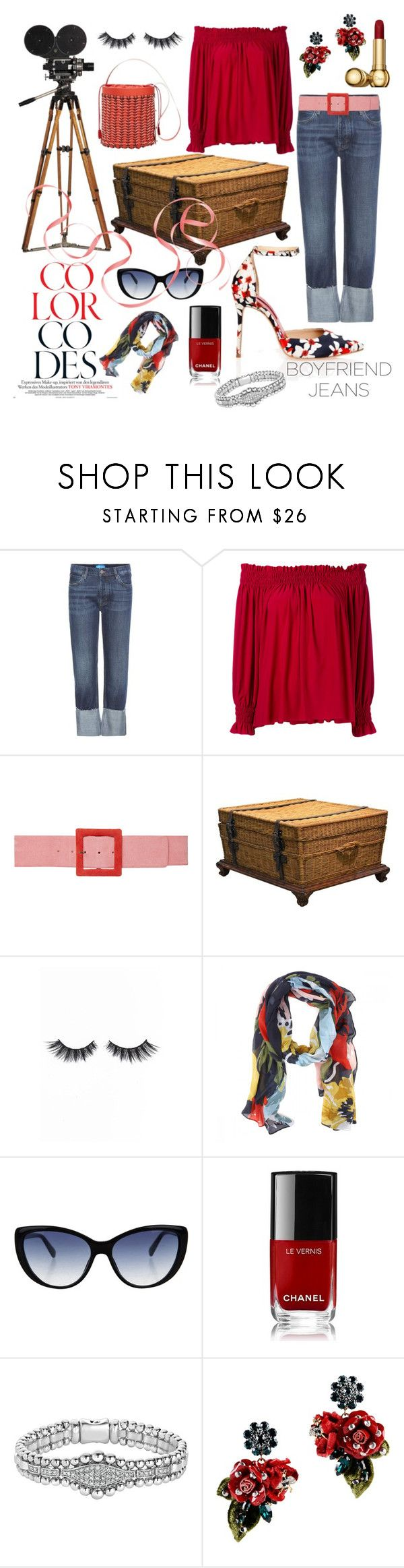 """""""COLORFUL"""" by tinagarrison ❤ liked on Polyvore featuring M.i.h Jeans, Norma Kamali, Carolina Herrera, Ralph Lauren, Violet Voss, Joules, Kate Spade, Chanel, Lagos and Dolce&Gabbana"""