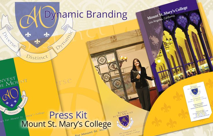 We just added a page showing off the branding of Mount St. Mary's College and the custom press kit we developed for them. Lots of cool elements to look at. www.mcgregorshott.com/project/dynamic-branding