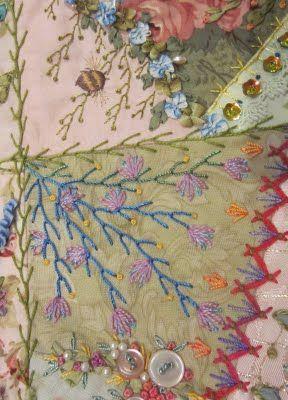 Sew So Crazy!©: Feather stitch..................