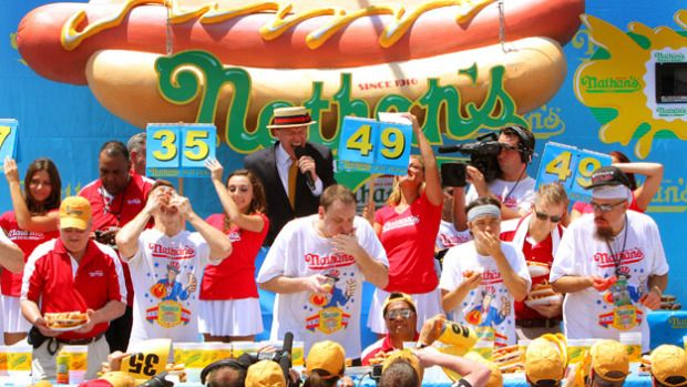 4 of july hot dog eating contest