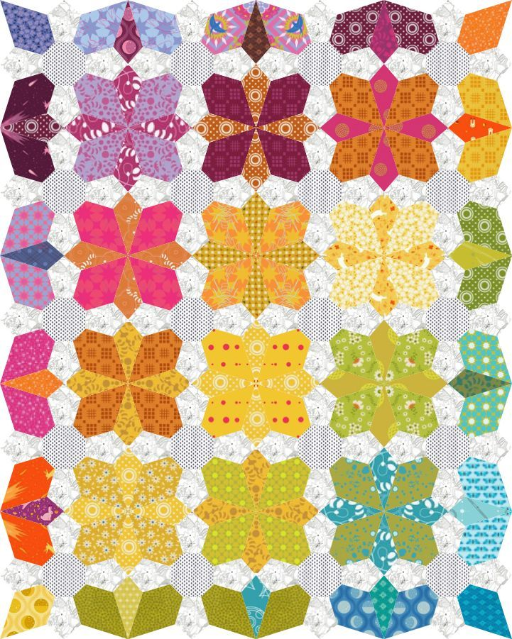 Quilt Paper Piecing Patterns For Beginners : 10+ ideas about English Paper Piecing on Pinterest Hexagon quilt, Quilting ideas and Diamond quilt