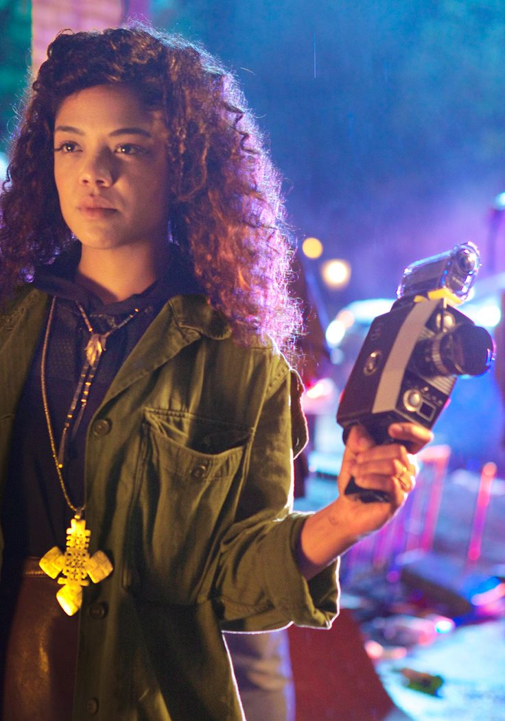 Actress Tessa Thompson is making some noise in the racially charged satire Dear White People.
