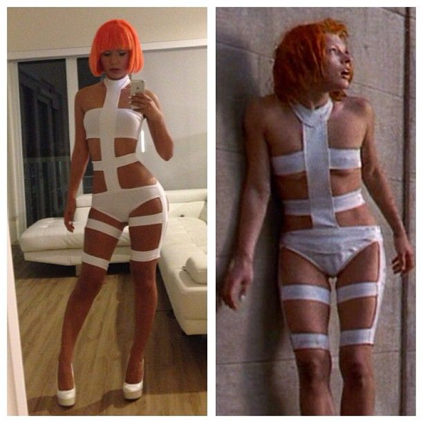 Halloween costume... Nailed it or nah?  #LeeLoo #5thElement