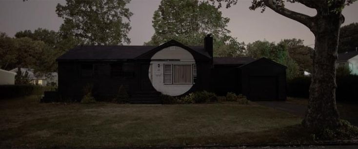 """A 'Strange' Suburbia - On the eve of a new exhibition, Island, opening in New York on November 18th, NOWNESS presents a short film about artist Ian Strange, whose work """"explores the loaded connection people have to homes."""""""