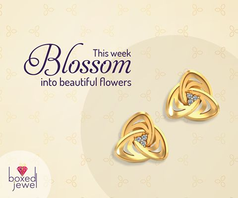 There's always a little more space in the jewelery box for an extra pair of beautiful earrings.   #Earrings #Jhumkas #GoldJewelry #Gift