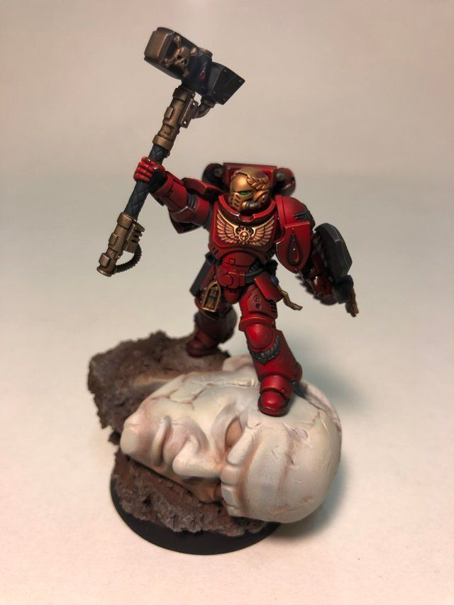 Blood Angels Smash Cap. Primaris edition! Obviously uses ...