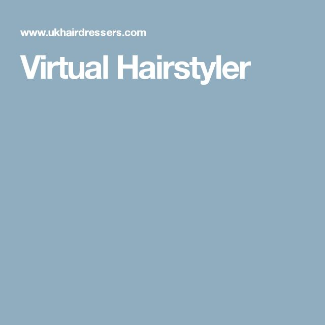 Super 1000 Ideas About Virtual Hairstyles On Pinterest Virtual Short Hairstyles For Black Women Fulllsitofus