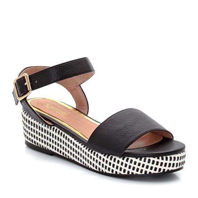 Sandales à semelle compensée SOFT GREY