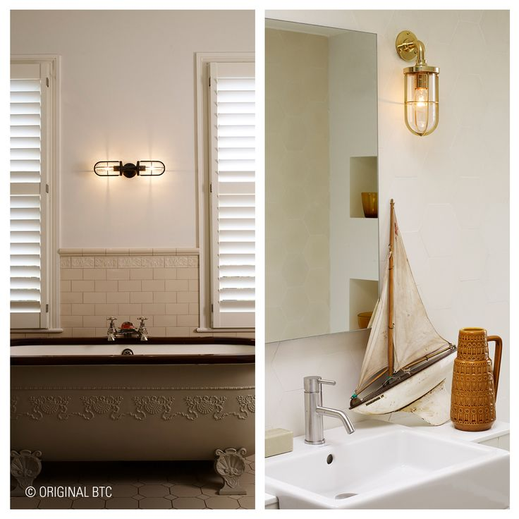 This classic British #Davey marine inspired light is the perfect choice when designing your bathroom.