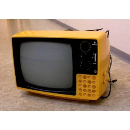 Sanyo Vintage Retro TV