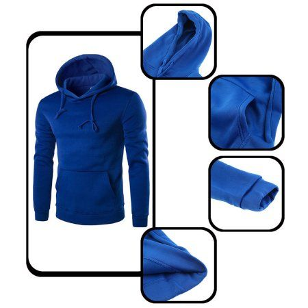 Men's Hoodie Sweat Shirt Casual Jacket Coat Top M L XL XXL Sport Hoody $13.74-$14.89