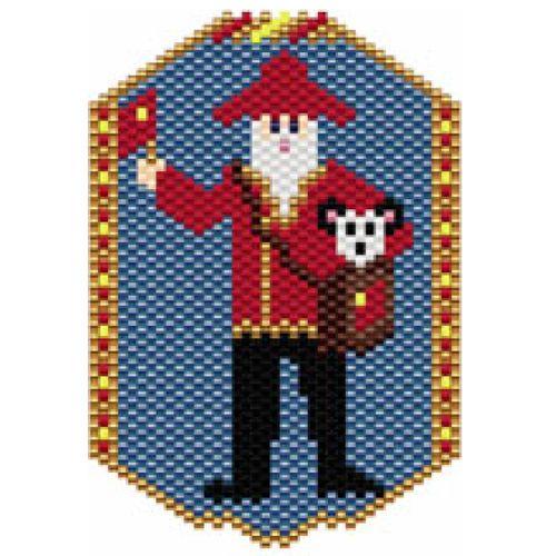 Santas of the World: China | Bead-Patterns